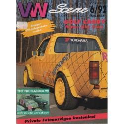 VW SCENE 1992 - 06   **JUNI**