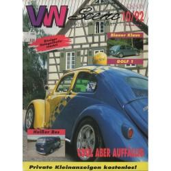 VW SCENE 1992 - 10   **OKTOBER**