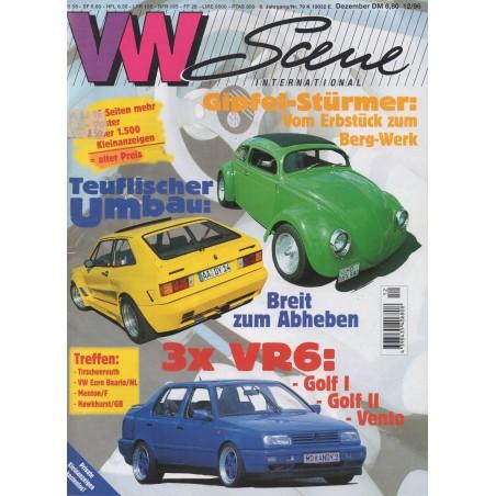 VW SCENE 1996 - 12   **DECEMBER** - 1