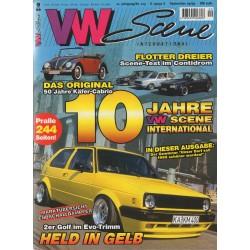 VW SCENE 1999 - 09  **SEPTEMBER** 10 JAHRE